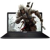 华硕 A550VQ6300游戏本 i5-6300HQ四核+2G独显,4G+500G,15.6英寸屏 黑色