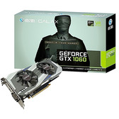 影驰 GeForce GTX 1060晓将 6G显存  同骨灰大将芯片游戏显卡 GTX1060 骁将 6G显存