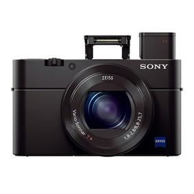 Sony 索尼 RX100 III/3代 黑卡数码相机 2010万有效像素 黑色